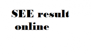 how to check SEE result online