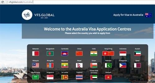 vfs global visa tracking