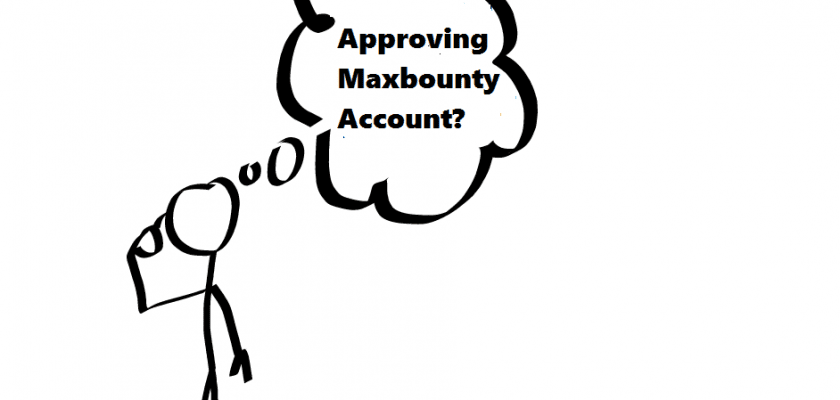 maxbounty account approve
