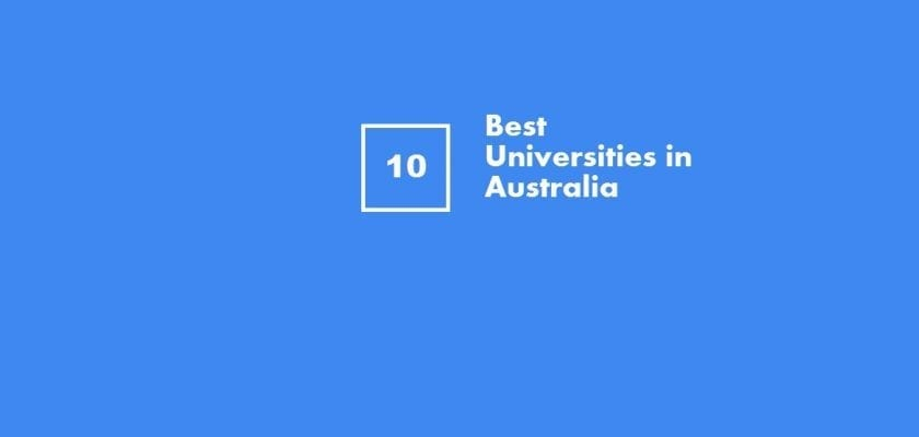 best universities in Australia