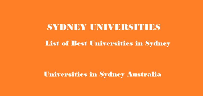 Sydney Universities