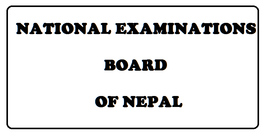 national examinations board nepal