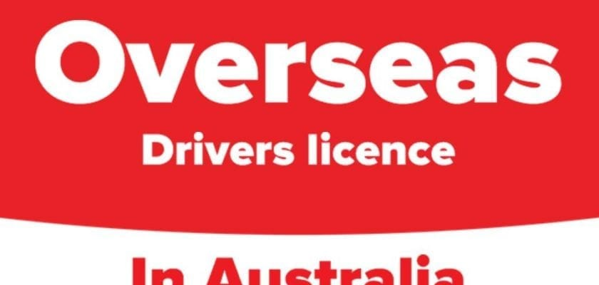 overseas drivers license in australia
