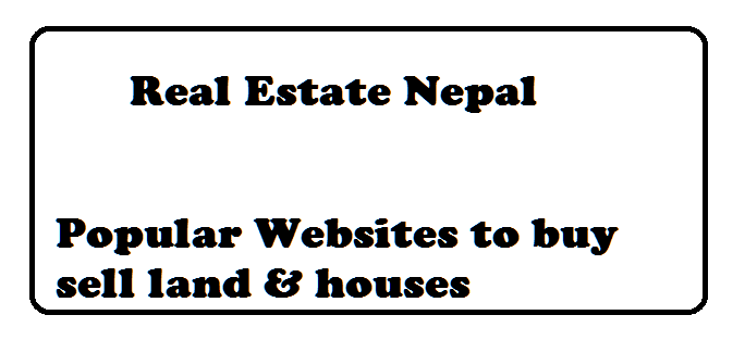 real estate nepal