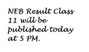 NEB Result Class 11 Science Management Today [Check Result