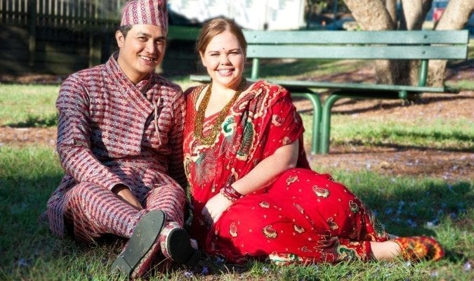 love marriage in nepal perfect couple