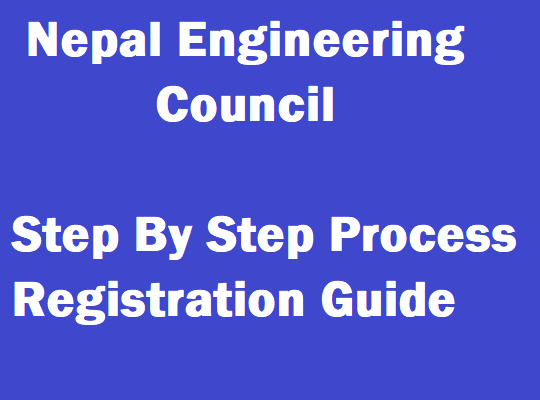 nepal engineering council registration