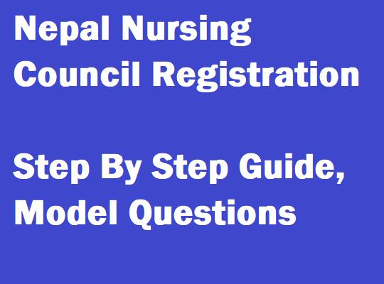 nepal nursing council registration