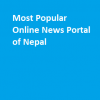 popular online news portal of nepal