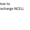how to recharge ncell