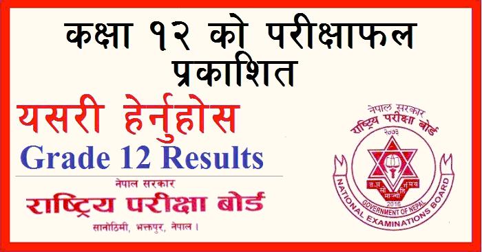 neb class 12 result
