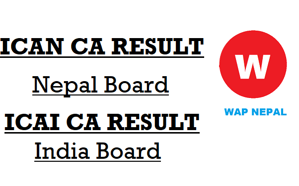 ICAN CA Result Nepal