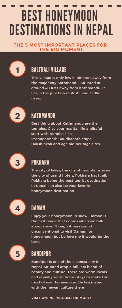 best honeymoon places in nepal