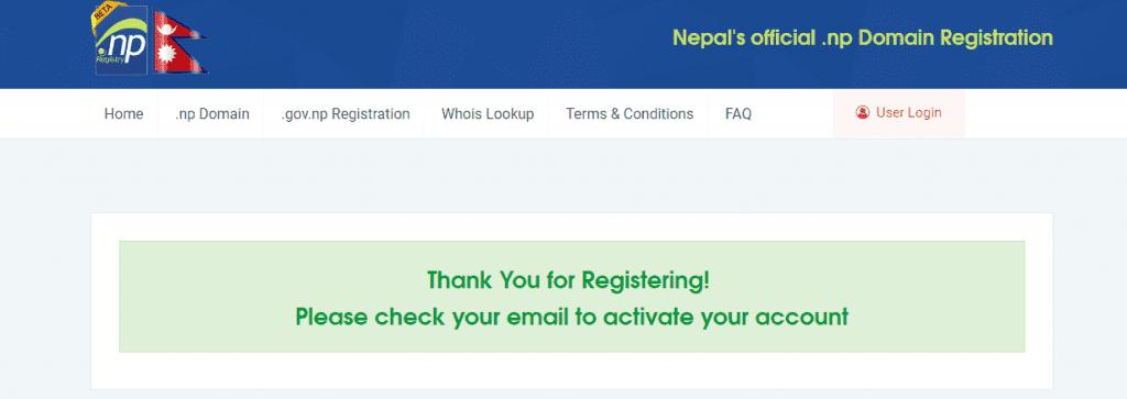 .com.np domain verification
