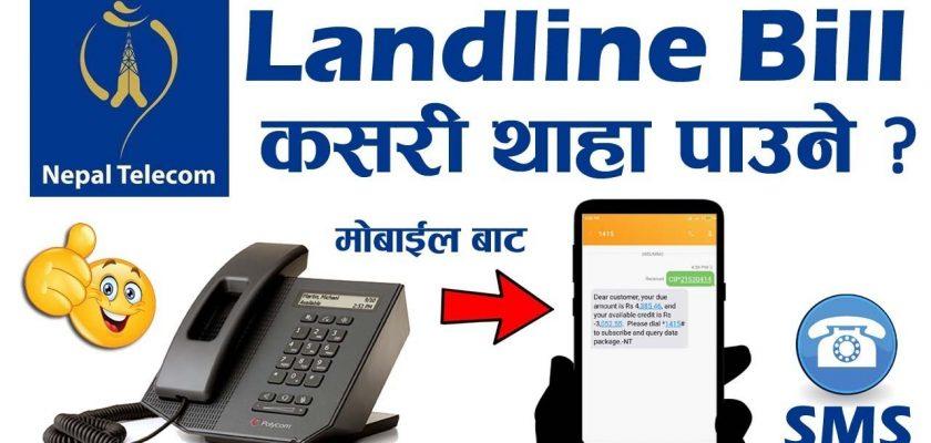nepal telecom landline pstn