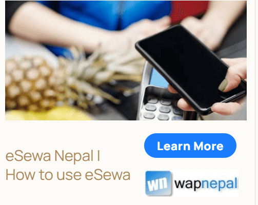 esewa Nepal how to use eSewa