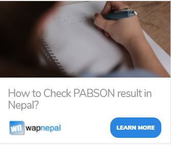 how to check pabson result in Nepal