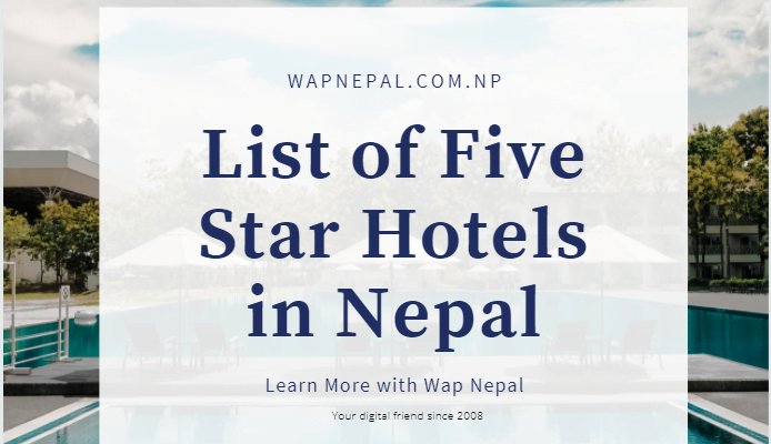 five star hotels in Nepal
