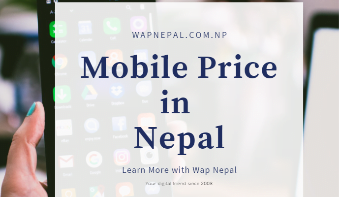 mobile price in Nepal